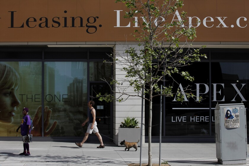 L.A. Mixes Grit With Glitz In $7 Billion Downtown Revamp
