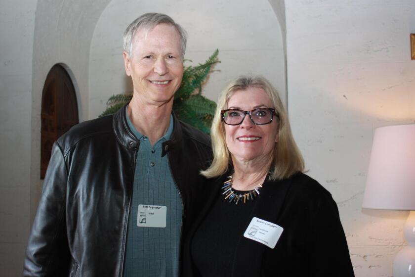 Pete Seymour and Susan Comden