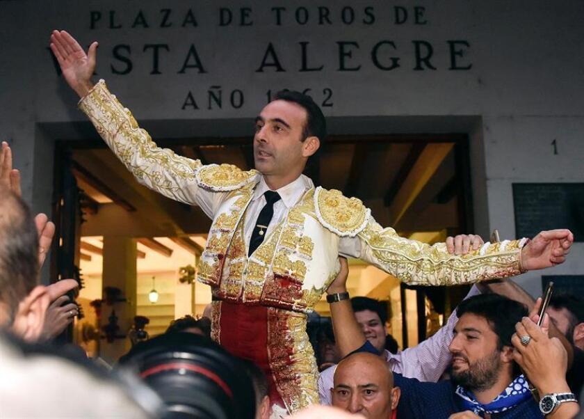 Ponce, feliz por Premio Nacional de Tauromaquia que reconoce gran trayectoria