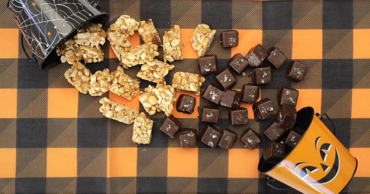 Move aside, sourdough: Your next cooking project is candy bars for Halloween