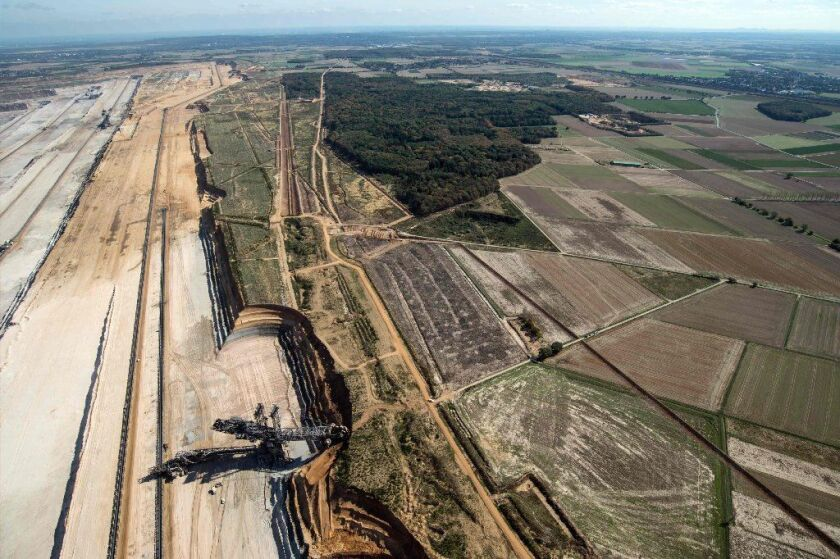 Active zinc mine in Germany.