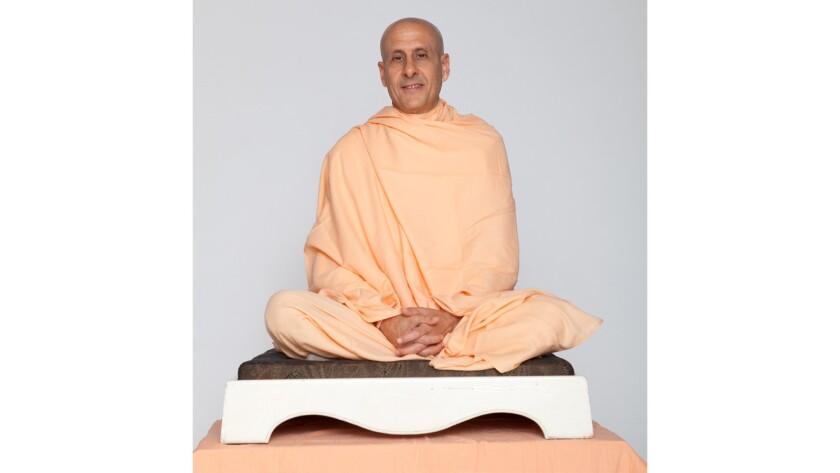 Activist, author and speaker Radhanath Swami.
