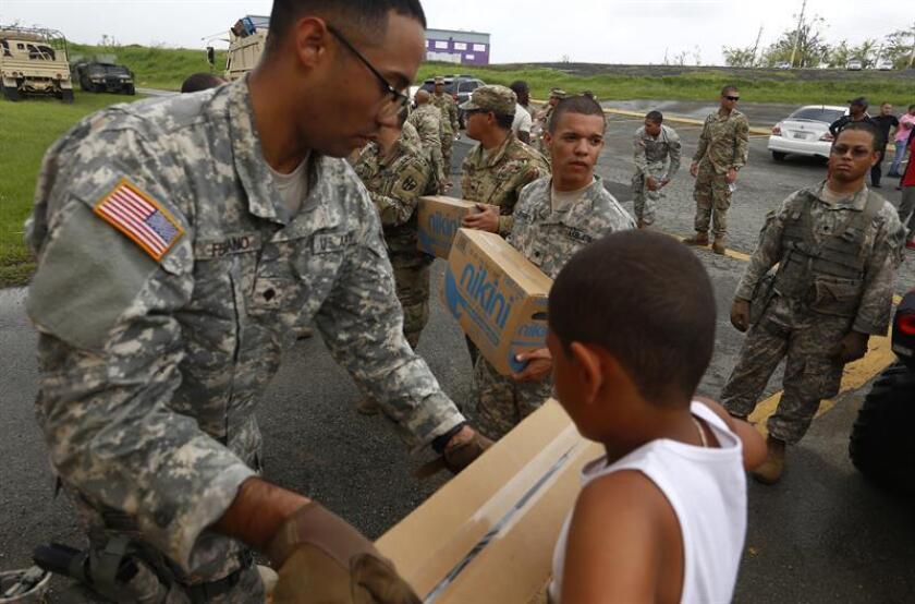 Tras el paso del huracán María, el Departamento de la Familia (DF) de Puerto Rico ha atendido 35.000 solicitudes de ingreso al Programa de Asistencia Nutricional PAN en el periodo que comprende de septiembre de 2017 hasta febrero de 2018, informó hoy el Departamento de Familia. EFE/ARCHIVO