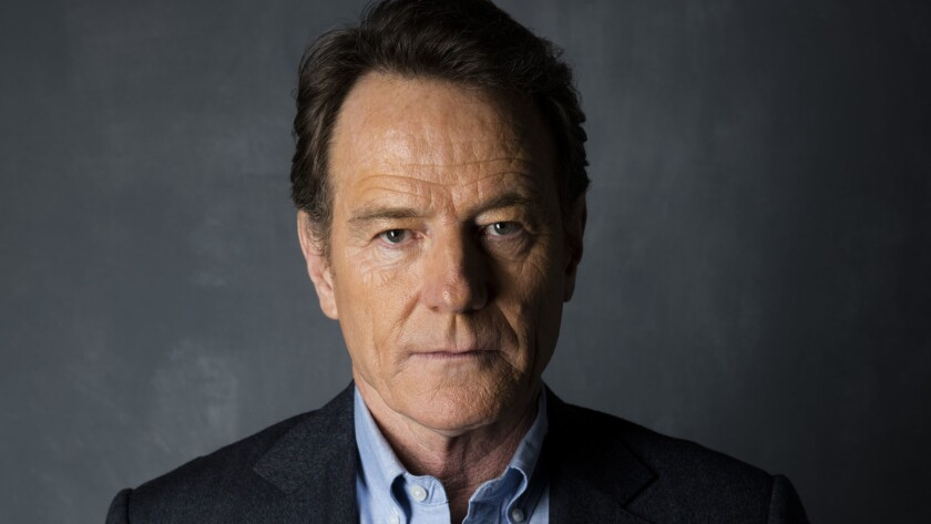 Bryan Cranston says it would be a challenge for him to play the role of Donald Trump given his feelings on the candidate.