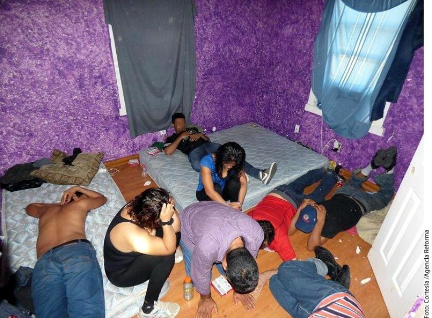 Un grupo de migrantes extranjeros que estaban ocultos en una casa-móvil en Mission, Texas, fueron localizados y asegurados por agentes de la Patrulla Fronteriza, informo la dependencia en un comunicado.