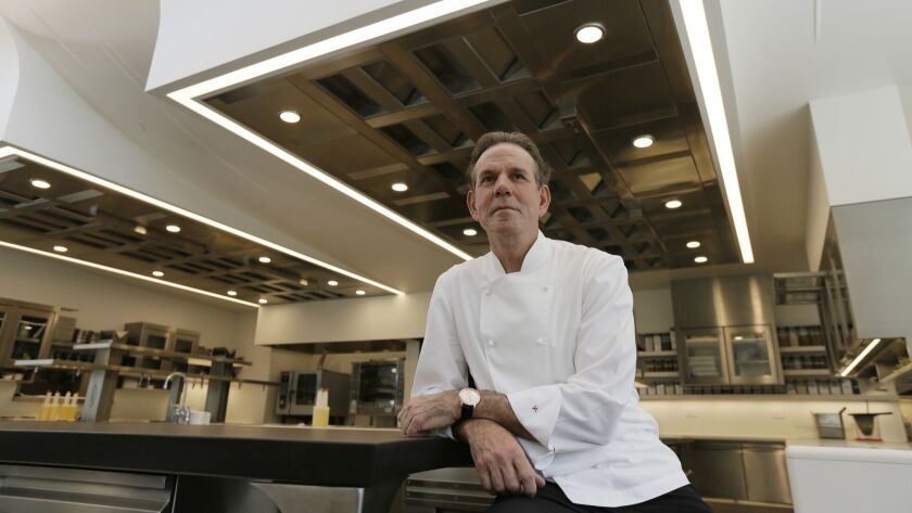 Thomas Keller in the kitchen of his French Laundry restaurant in Yountville, Calif., in 2017.