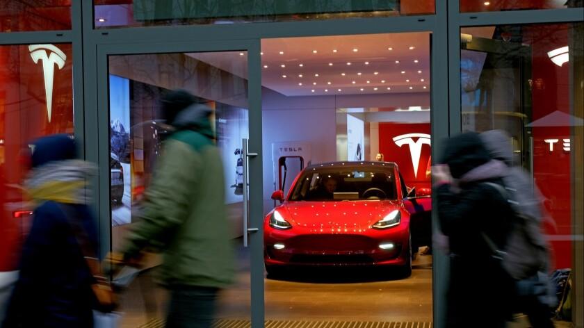 Tesla Dealership In Berlin