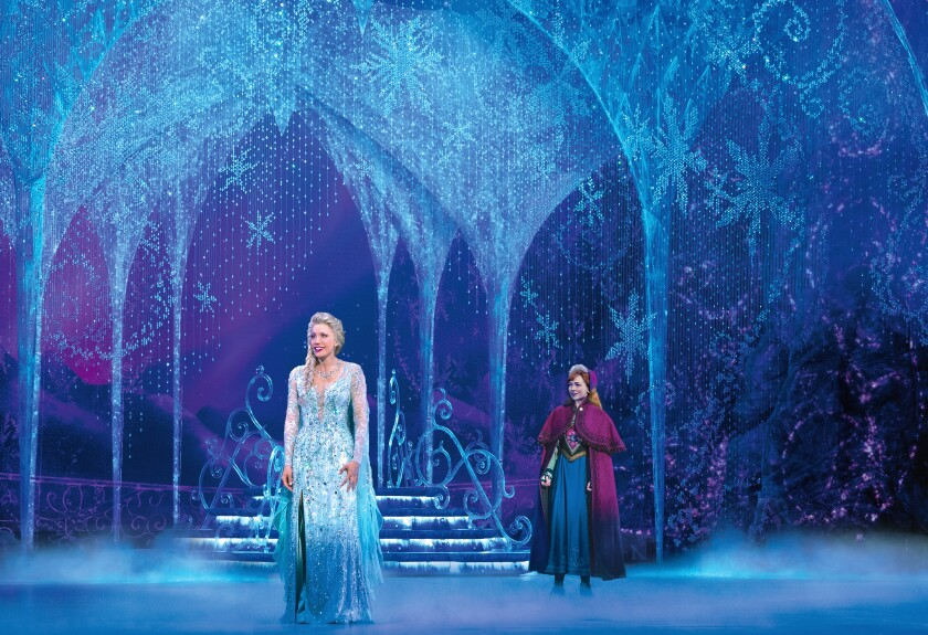"""The """"Frozen"""" musical North American tour"""