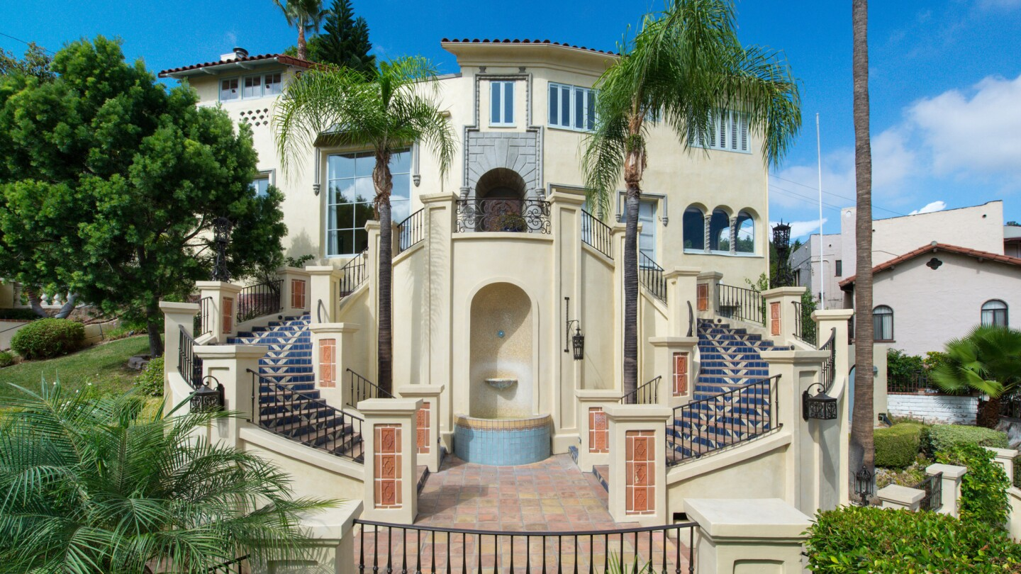 Home of the Day: Grand details and Mediterranean style in the Hollywood Dell