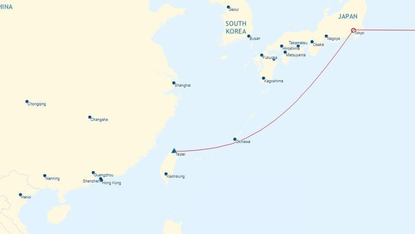 Airlines comply with demand from China that Taiwan not be
