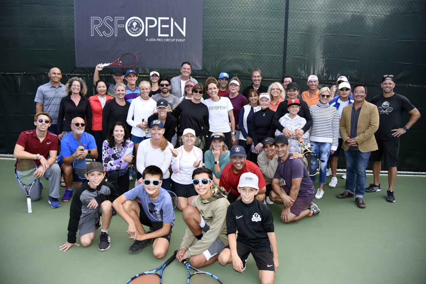 Tennis Fest participants