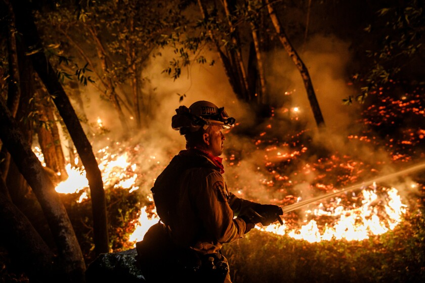Peak fire season is near and the federal government is short hundreds of firefighters