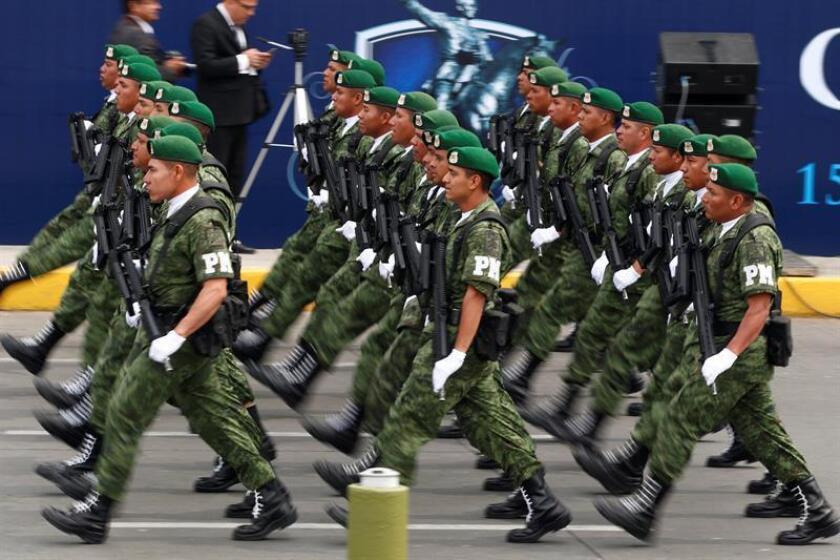 La Cámara de Diputados de México aprobó hoy con 215 votos a favor, 101 en contra y 4 abstenciones la Ley de Seguridad Interior que regula la participación de las Fuerzas Armadas en las tareas de seguridad pública y la envió al Senado para su análisis y ratificación. EFE/ARCHIVO