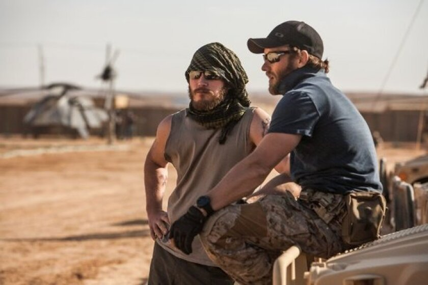"""Chris Pratt, left, and Joel Edgerton star in """"Zero Dark Thirty,"""" which got off to a strong start at the box office this weekend in limited release."""