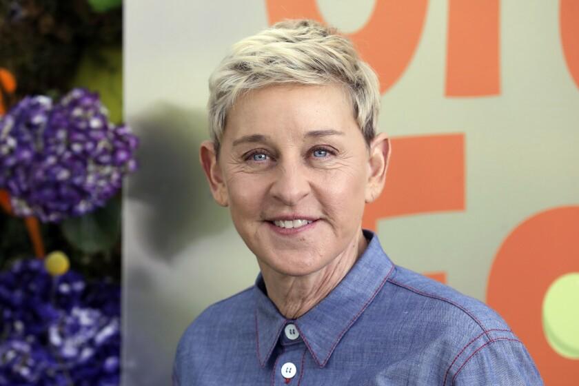 """Ellen DeGeneres asiste al estreno de """"Green Eggs and Ham"""" de Netflix"""
