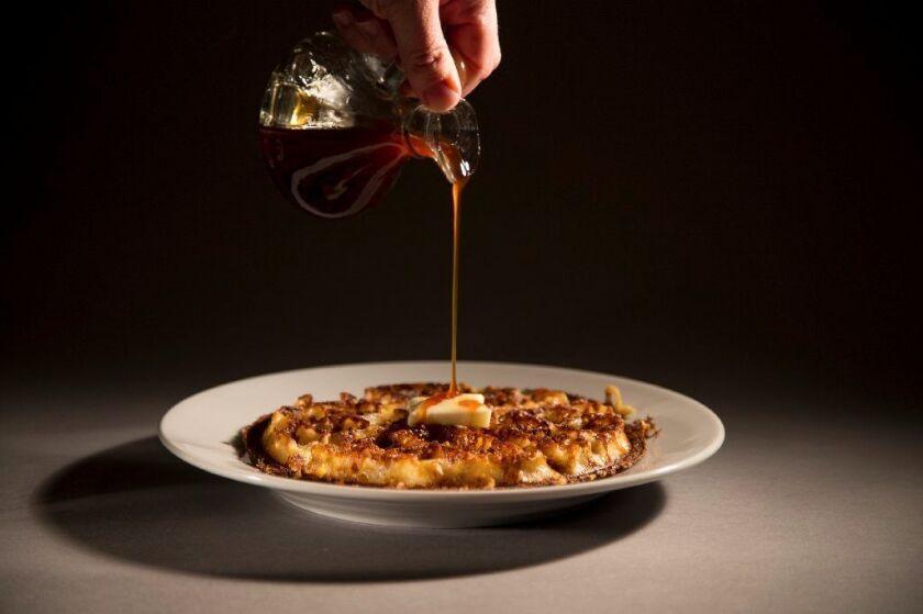 Brown Sugar Kitchen's cornmeal waffles
