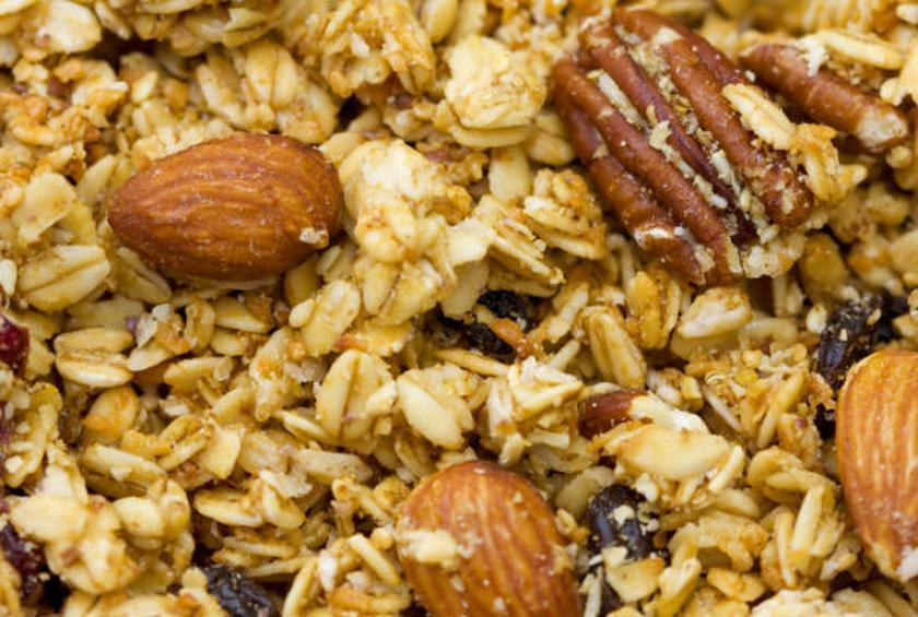 Most breakfast bars are overpriced — not to mention that half the time you don't like half the stuff that's in them. Give this easy snack a try and you'll have a customized breakfast organized for days. Click here for the Slow Cooker Granola Bars recipe.