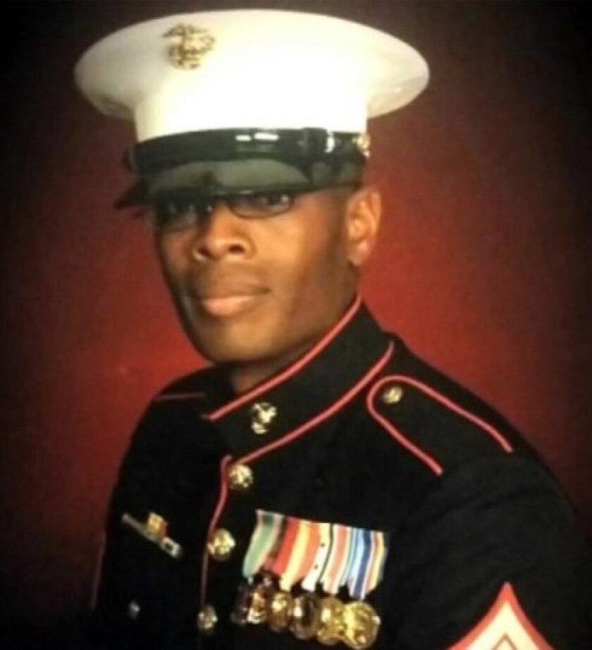 Marine veteran Johnathan Turner