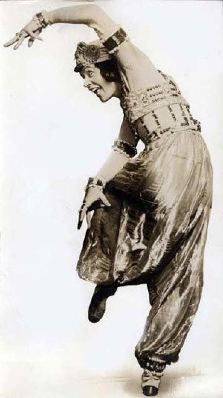 """KOSLOFF: In a 1913 production of Fokine's """"Scheherazade."""""""