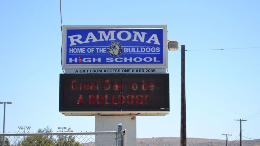 Ramona High School will be the site of free heart screenings for 12- to 25-year-olds on Sunday.