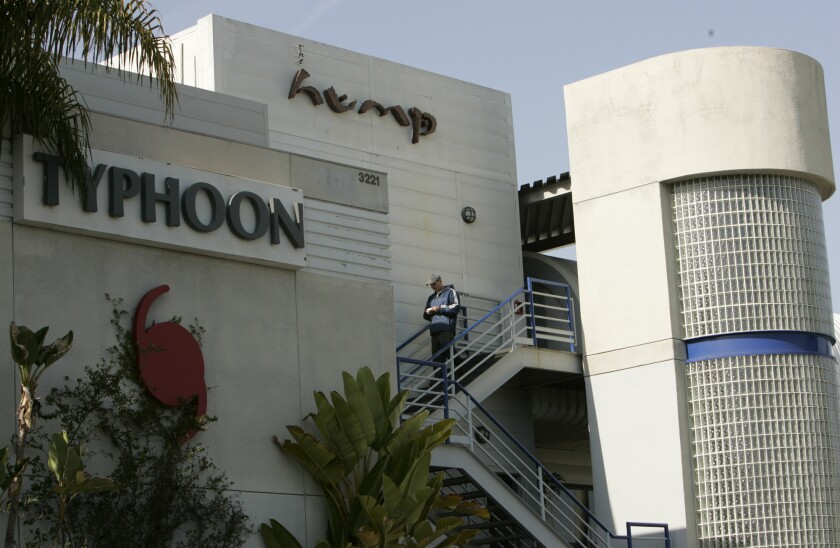 Two sushi chefs who formerly worked at the Hump Restaurant at the Santa Monica Airport pleaded guilty Monday to charges relating to serving whale meat.