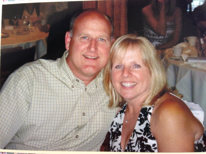 Richard Bigler and his wife, Theresa Bigler. She claims in a lawsuit that her husband was infected and later died from a contaminated Olympus Corp. scope at Virginia Mason Medical Center in Seattle in 2013.