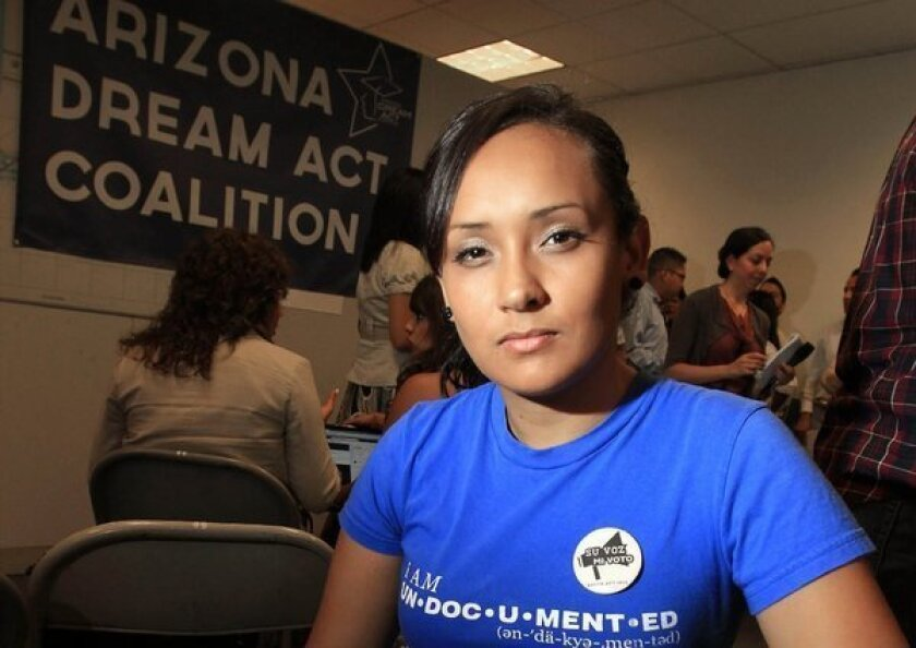 Relatives of Erika Andiola, immigrant activist, detained