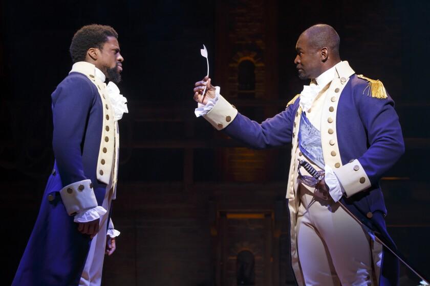 'Hamilton' cast