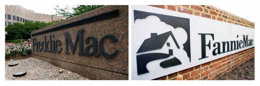 Freddie Mac and Fannie Mae logos