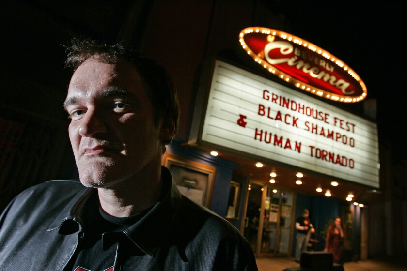 It's like 'Cheers' for movie lovers: An inside look at Quentin