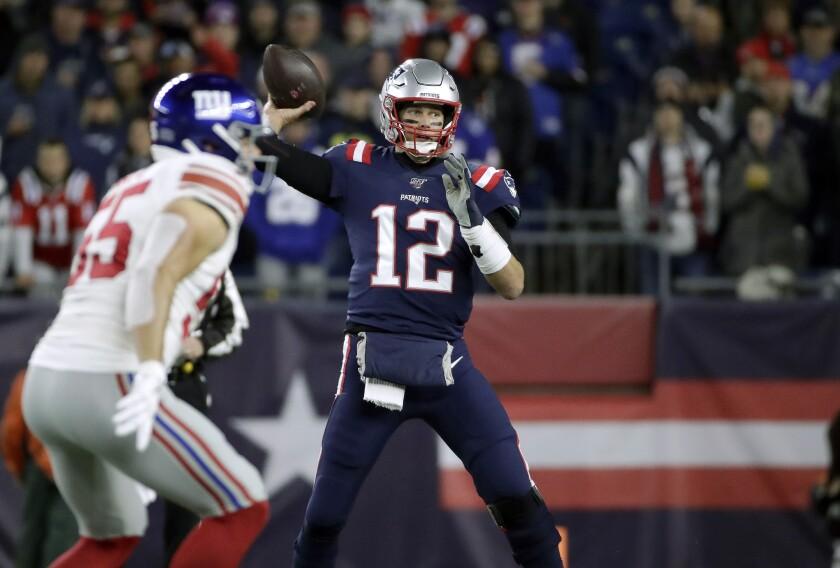 APTOPIX Giants Patriots Football