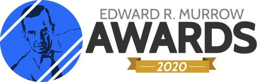 National Murrow Award Logo