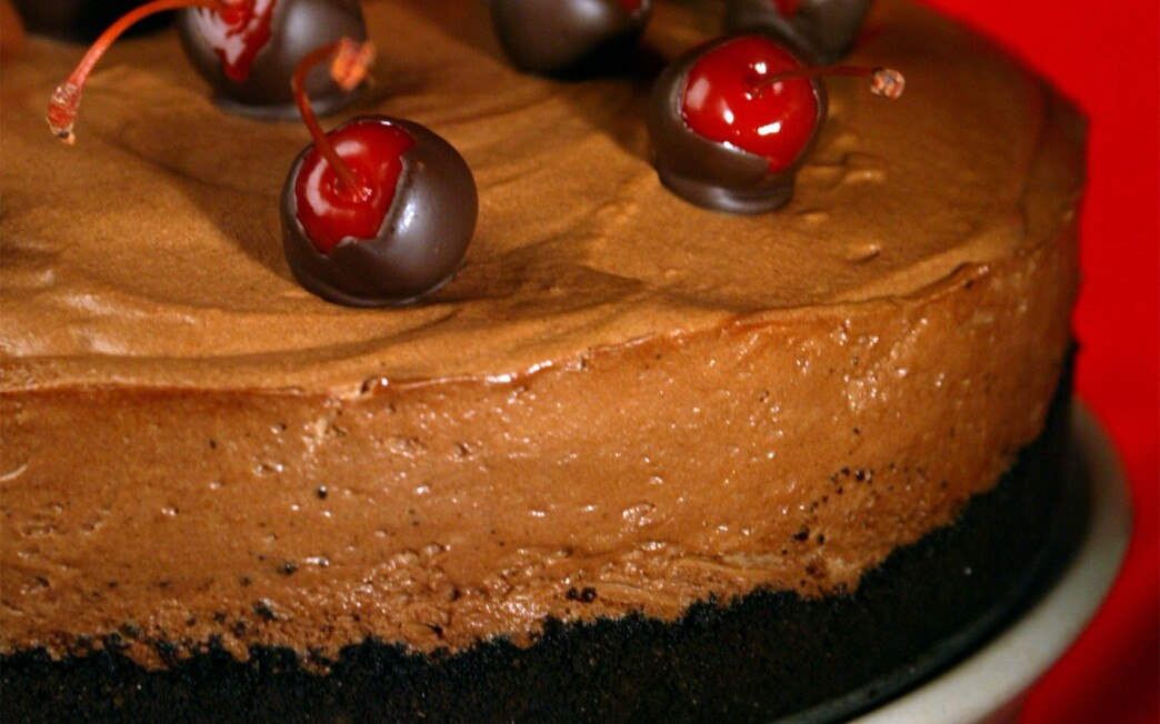 Justice Lillie's chocolate mousse pie