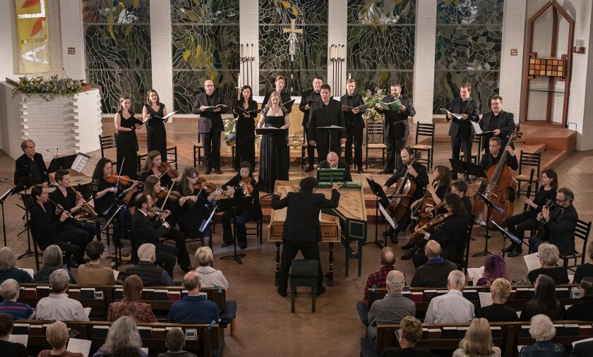 """Bach Collegium San Diego performs Henry Purcell's """"King Arthur."""""""