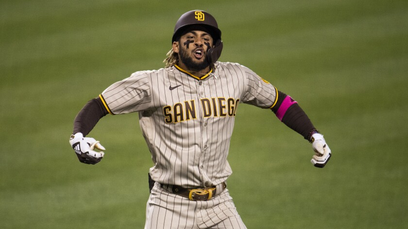 Column: Dodgers couldn't keep up with Fernando Tatis Jr. - The San Diego  Union-Tribune