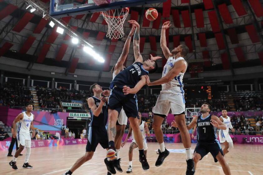 Argentina, República Dominicana, EE.UU y Puerto Rico, semifinalistas en baloncesto