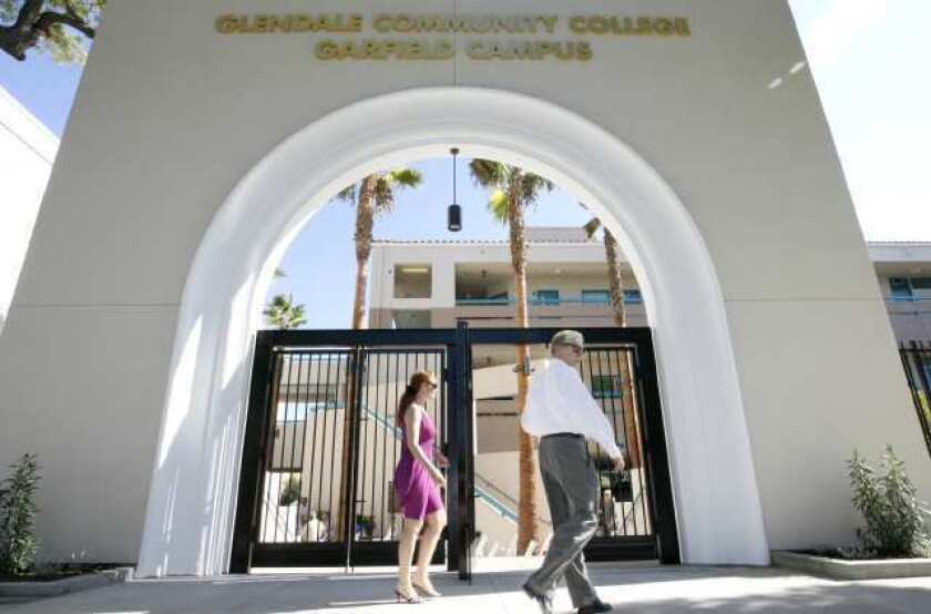 The Glendale Community College Garfield campus.