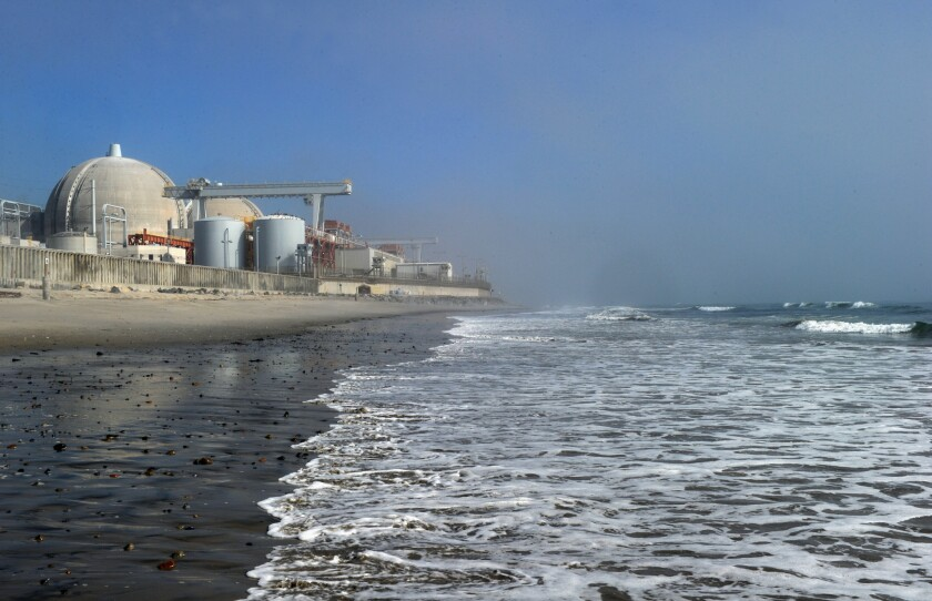 The San Onofre nuclear power plant closed in 2013 because of faulty steam generators.