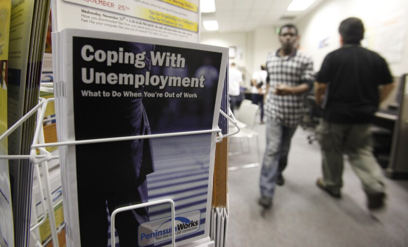 A booklet on how to deal with unemployment