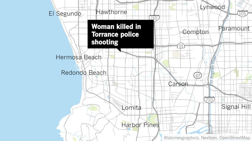 Woman killed in Torrance police shooting