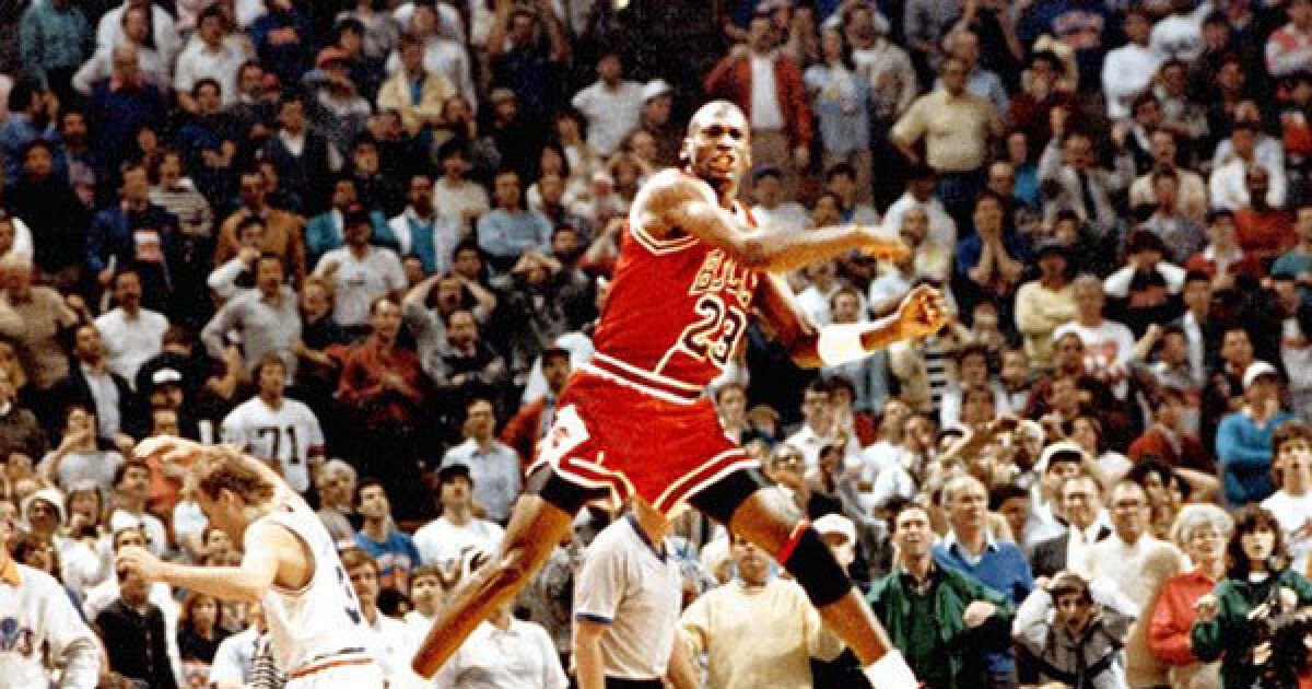 Michael Jordan A Timeline Of The Nba Legend Los Angeles Times