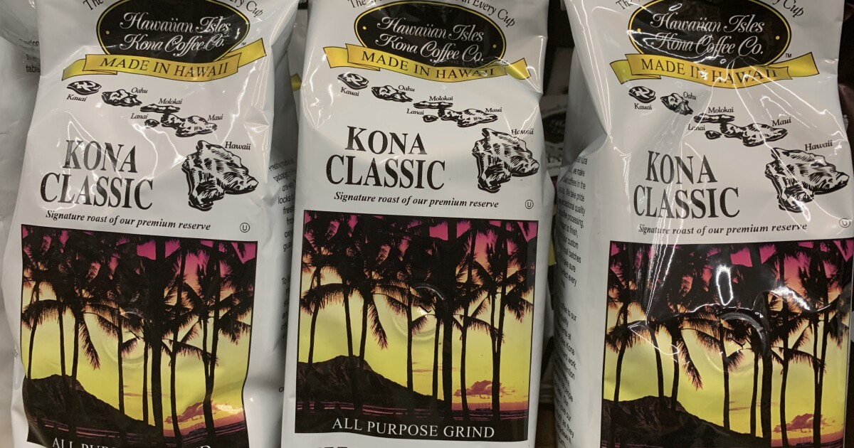 The Kona Coffee You Buy From Costco And Walmart It Might Be Fake Los Angeles Times