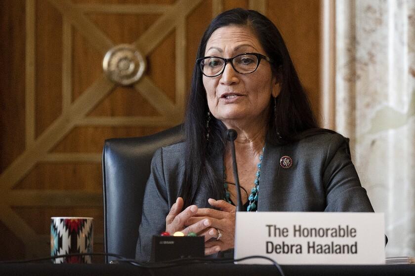 Rep. Deb Haaland, D-N.M.