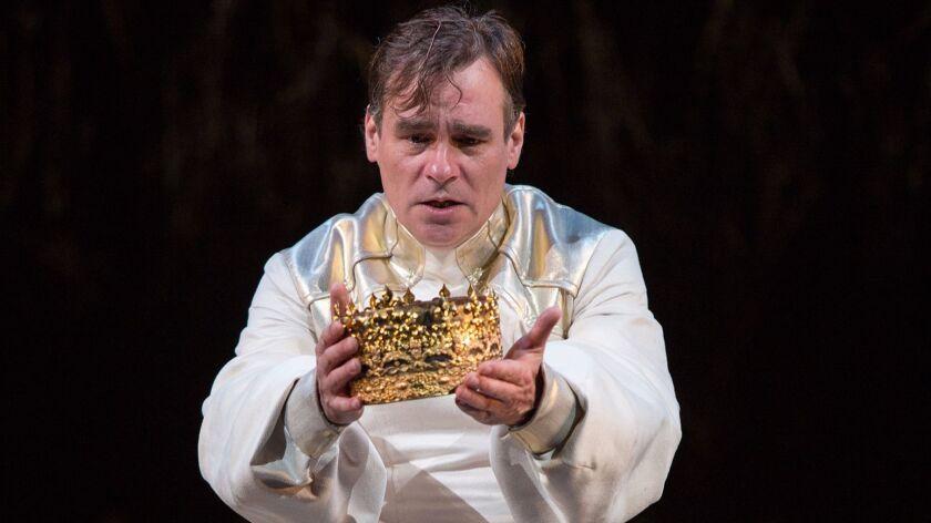 "Robert Sean Leonard plays the title role in ""King Richard II,"" running through July 15 at San Diego's Old Globe."