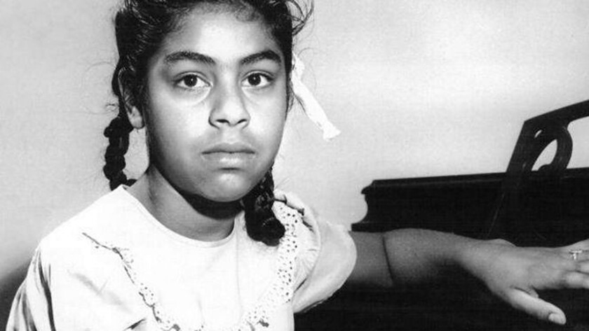 Sylvia Mendez, pictured at age 10, was named a winner of the Presidential Medal of Freedom by President Obama. In 1947 the Mendez v. Westminster case ended official segregation of Mexican students in California schools.