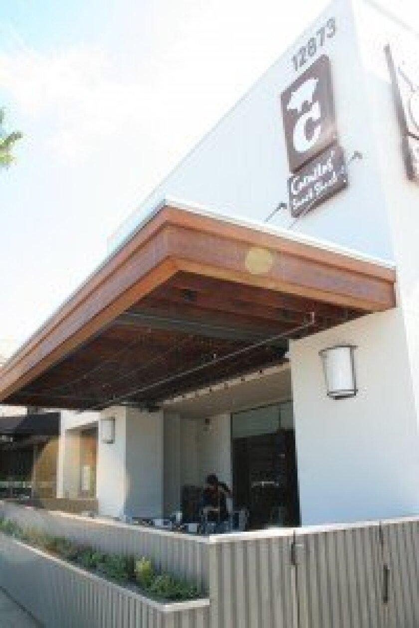 The restaurant opened Aug. 21 in Del Mar Highlands Town Center in Carmel Valley.  Photo by Karen Billing