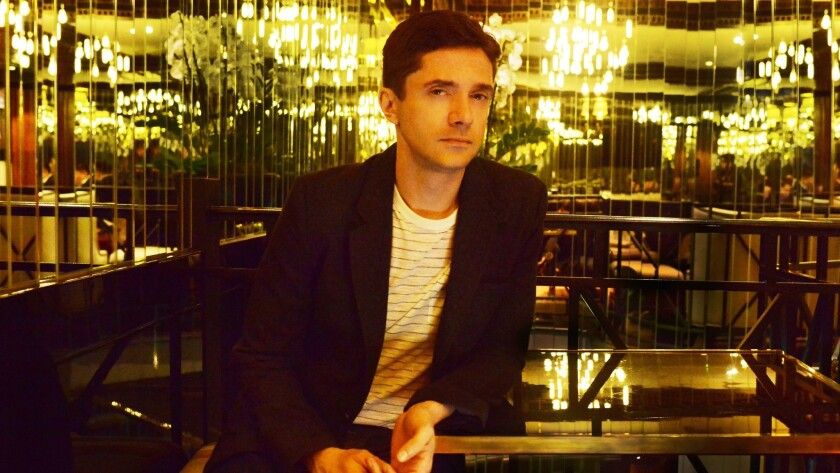 Topher Grace was in the only two American films that played in competition at the Cannes Film Festival this year.