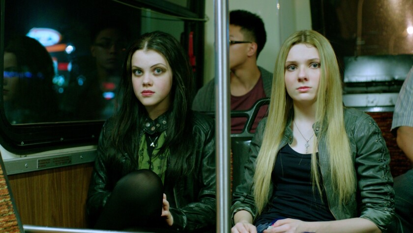 """Georgie Henley and Abigail Breslin in """"Perfect Sisters."""""""