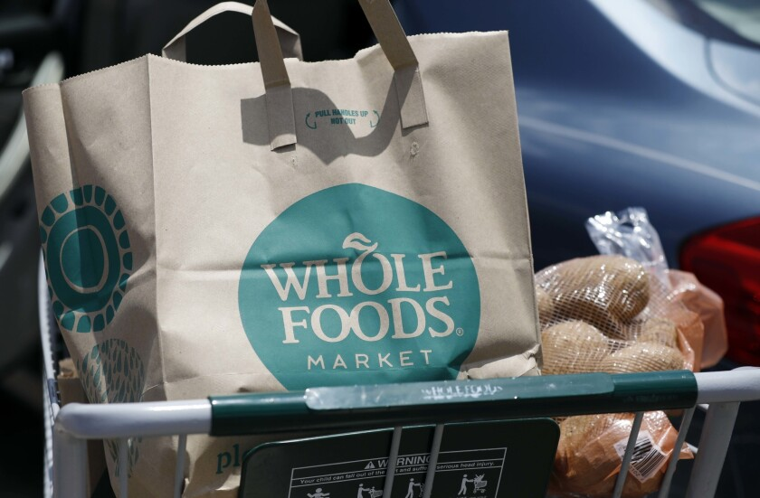 Whole Foods employees are seeking paid leave for all workers who self-quarantine, hazard pay of double the current hourly wage, more sanitation supplies and free coronavirus testing.