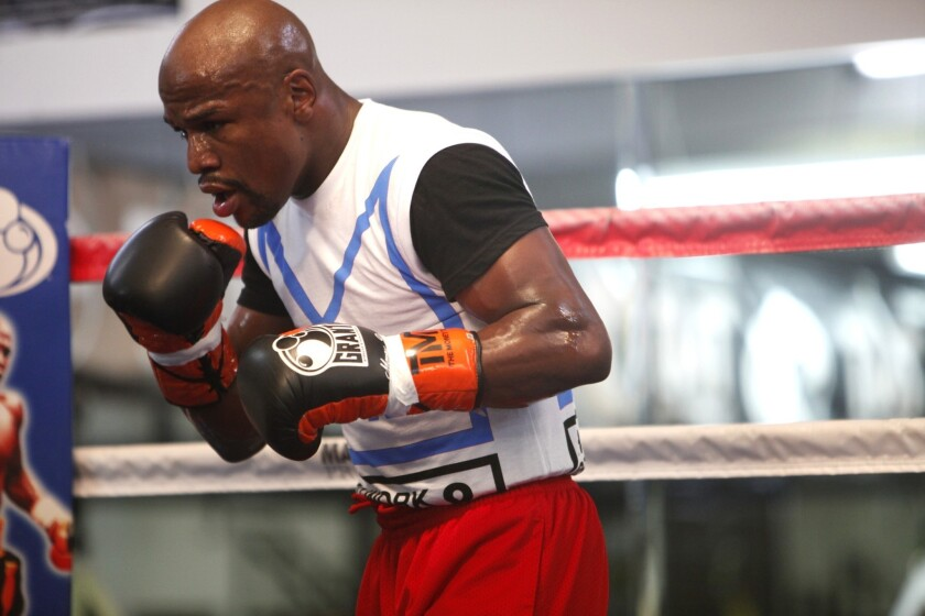 Floyd Mayweather Jr. is obsessed with perfection
